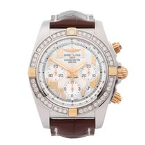 Breitling 44mm Automatic 2018 new Chronomat 44 Mother of pearl