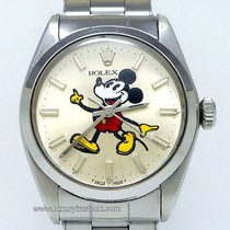 Rolex Oyster Precision 34mm Mickey Mouse