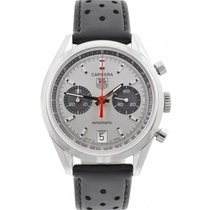 TAG Heuer pre-owned Automatic 39mm Silver 3 ATM