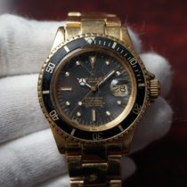 Rolex Submariner 1680 18K Yellow Gold Nipple Dial