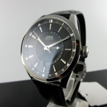 Oris Artix Pointer Steel 42mm Black No numerals