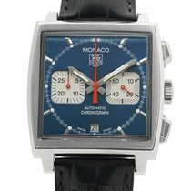 TAG Heuer Monaco Steel 38mm Blue United States of America, New York, New York