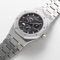 Audemars Piguet Steel Automatic Royal Oak Dual Time pre-owned Malaysia, Kuala Lumpur