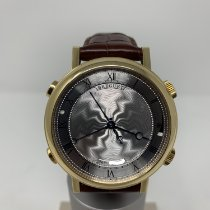 Breguet pre-owned Automatic 48mm Silver Sapphire Glass 3 ATM