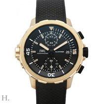 万国 Aquatimer Chronograph 青铜 44mm 黑色