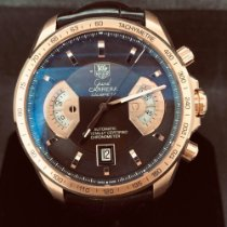 TAG Heuer Or rose 43mm Remontage automatique CAV514C.FC8171 occasion