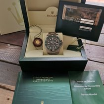 Rolex Submariner Date Steel Green No numerals Singapore, Singapore