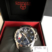 Chopard Superfast tweedehands 45mm Zwart Datum Dagaanduiding Rubber