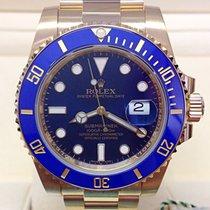 Rolex Submariner Date 116618LB Mai indossato Oro giallo 40mm Automatico