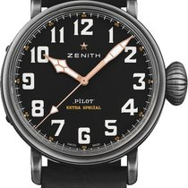 Zenith Pilot Type 20 new 2021 Automatic Watch with original box 11.2432.679/21.c900 Ton-Up