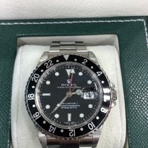 Rolex 16710 Steel 2002 GMT-Master II 40mm pre-owned United States of America, New York, New York