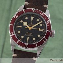 Tudor Black Bay rabljen 41mm Crn Govedja koza