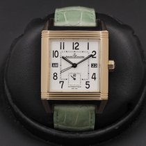 Jaeger-LeCoultre Reverso Squadra Hometime Rose gold 42mm White United States of America, California, Huntington Beach