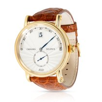 Chronoswiss Yellow gold Automatic Silver Arabic numerals 38mm pre-owned Delphis