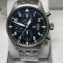 萬國 IWC Pilots Watch Chronograph 377704
