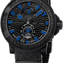 Ulysse Nardin Steel Automatic Black new Diver Black Sea