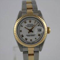 Rolex Datejust 69173 Gold / Stahl #K2816 Box, Papiere
