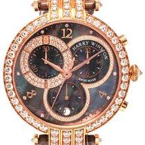 Harry Winston Premier 18K Rose Gold Chronograph Ladies Watch –...