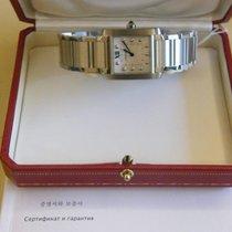 Cartier Stål 30.4mm Kvarts WE110007 ny