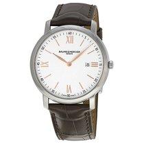 Baume & Mercier Baume Et  Classima 10181 Mens Brown Leather...
