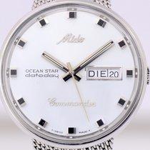 Mido Commander datoday ocean Star White Dial Edelstahl...