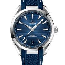 Omega Seamaster Aqua Terra nuevo 2021 Automático Reloj con estuche y documentos originales 220.12.41.21.03.001