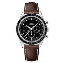 Omega Speedmaster Professional Moonwatch Steel Black No numerals United States of America, Georgia, Alpharetta