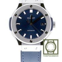 Hublot Classic Fusion Blue Titanium 38mm Blauw