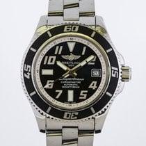 Breitling Superocean 42 Steel 42mm Black Arabic numerals United States of America, Florida, Miami Beach