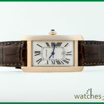 Cartier Tank Solo XL 18 ct / 0,750 yellow Gold 35x27 mm Ref 2742