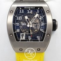 Richard Mille Rm010 Titanium Yellow / Black Strap Limited...