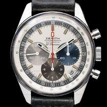 Zenith Chronograph 37mm Automatic pre-owned El Primero (Submodel) Silver