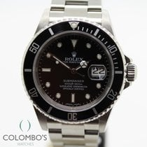 Rolex Submariner Date Acero 40mm Negro Sin cifras España, Granollers, colomboswatches.com