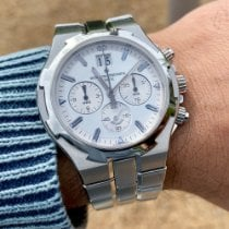 Vacheron Constantin Overseas Chronograph Steel 40mm Silver No numerals United States of America, Texas, Houston