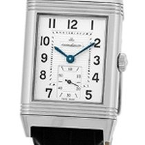 Jaeger-LeCoultre pre-owned Manual winding 30mm Silver Sapphire Glass 3 ATM