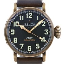 Zenith 29.2430.679/21.C753 Bronze Pilot Type 20 Extra Special 45mm pre-owned United States of America, Florida, Boca Raton