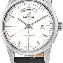 Breitling Transocean Day & Date A4531012/G751-436X new