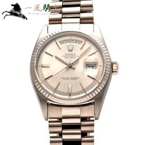 Rolex 1803 White gold 1969 Day-Date 36 36mm pre-owned