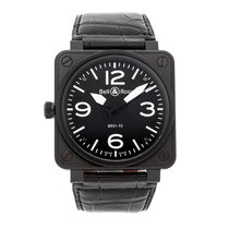 Bell & Ross BR 01-92 Steel 46mm Black Arabic numerals United States of America, Pennsylvania, Bala Cynwyd