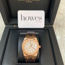 Audemars Piguet Royal Oak Selfwinding Rose gold 39mm White No numerals United Kingdom, LONDON