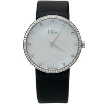 Dior Stahl Quarz Dior White Mother Of Pearl Steel La D D De Dior gebraucht
