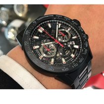 TAG Heuer Carrera new 2020 Automatic Chronograph Watch with original box and original papers CBG2A90.BH0653