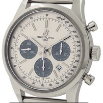 Breitling Transocean Chronograph Steel 43mm Silver United States of America, New York, New York