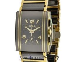 Rado Integral Chrono 18Kt Gold and Ceramic Watch R20592152