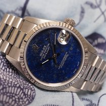 Rolex Datejust Ref. 78279 Lapis Dial 18K White Gold
