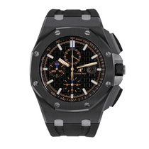 Audemars Piguet Royal Oak Offshore Chronograph Cerámica 44mm Negro Sin cifras