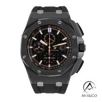 Audemars Piguet Royal Oak Offshore Chronograph Ceramic 44mm Black No numerals