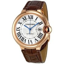 Cartier Ballon Bleu 42mm Rose Gold Diamonds Watch