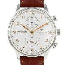 IWC Portuguese-Chronograph en acier Vers 2010