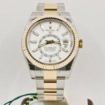 Rolex Sky-Dweller Gold/Steel 42mm White No numerals United States of America, Florida, Miami